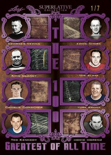 2021 Leaf Superlative Collection Hockey Cards 12
