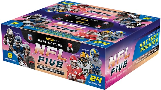 2021 Panini NFL Five Trading Card Game TCG Football Cards - Checklist Added 5