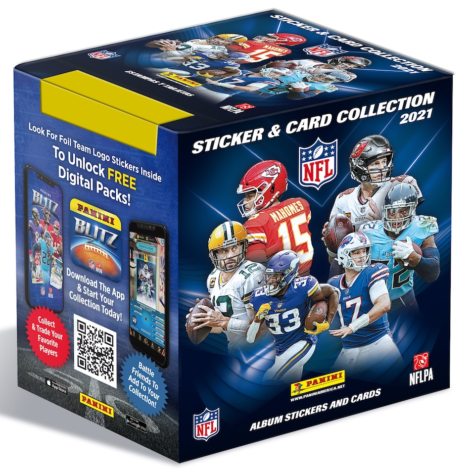 2021 Panini NFL Sticker & Card Collection Football Cards - Checklist Added 6
