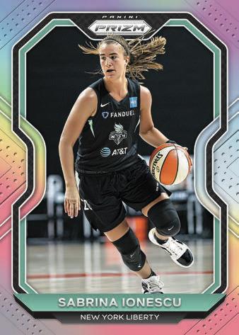 2021 Panini Prizm WNBA Basketball Cards 3
