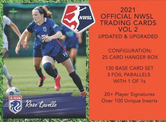 2021 Parkside NWSL Vol 2 Soccer Cards 1