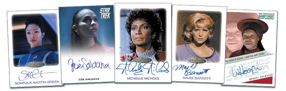 2021 Rittenhouse Women of Star Trek Art & Images Trading Cards - Early Images 4