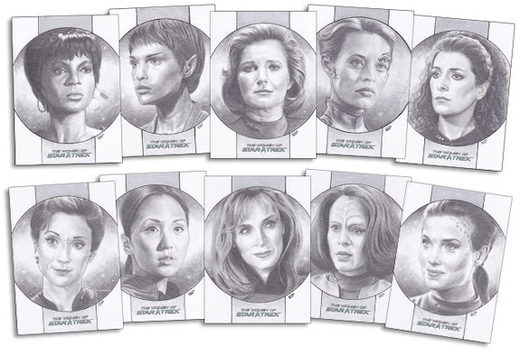 2021 Rittenhouse Women of Star Trek Art & Images Trading Cards - Early Images 6
