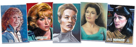 2021 Rittenhouse Women of Star Trek Art & Images Trading Cards - Early Images 3
