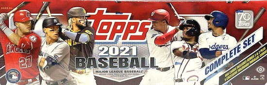 2021 Topps Baseball Complete Factory Set Cards Exclusives Guide and Checklist 7