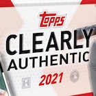 2021 Topps Clearly Authentic Baseball Cards