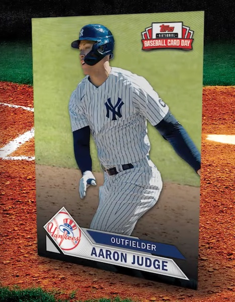 2021 Topps National Baseball Card Day Cards - Saturday, August 7 1