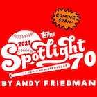 2021 Topps Spotlight 70 Baseball