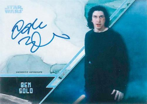 2021 Topps Star Wars Stellar Signatures Trading Cards 2