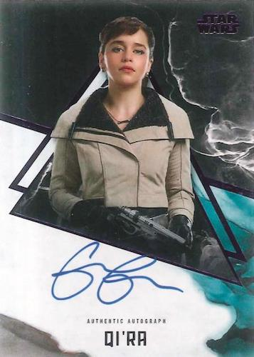 2021 Topps Star Wars Stellar Signatures Trading Cards 4