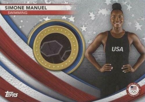2021 2020 Topps US Olympics & Paralympics Team Hopefuls Trading Cards 4