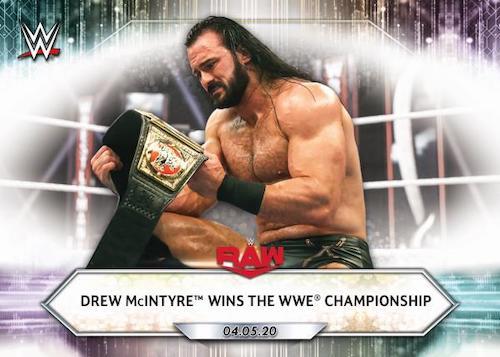 2021 Topps WWE Wrestling Cards 2