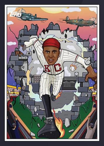 2021 Topps X Nashville Stars Negro Leagues Baseball Cards 1