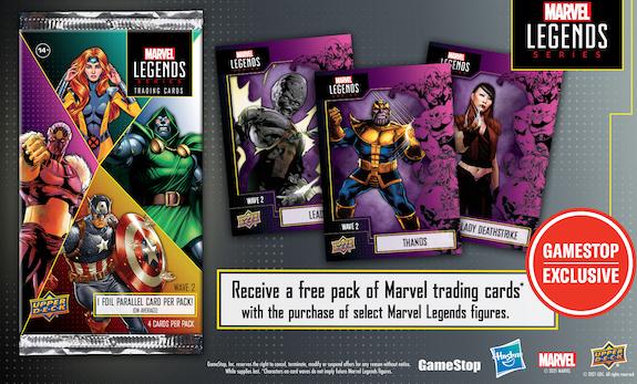 2021 Upper Deck Marvel Legends Series Trading Cards 1