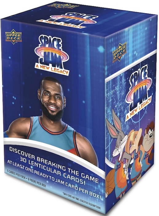 2021 Upper Deck Space Jam A New Legacy Trading Cards 1