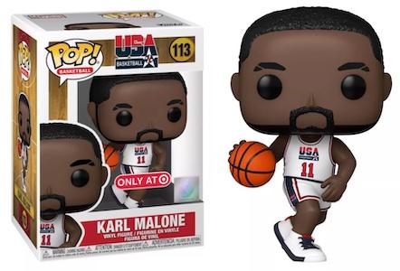 Ultimate Funko Pop Basketball NBA Figures Gallery and Checklist - Dream Team 121