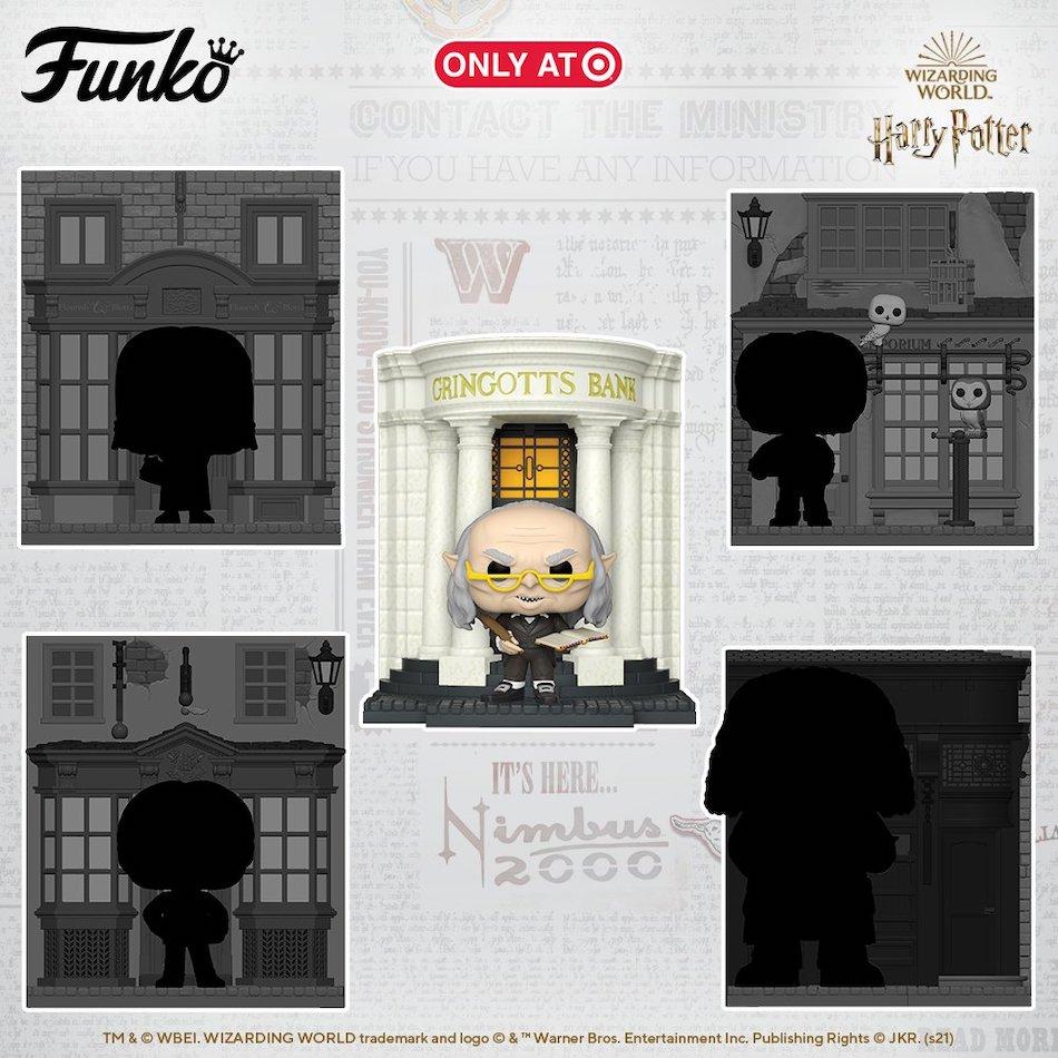 Funko Pop Harry Potter Diagon Alley Deluxe Figures 1