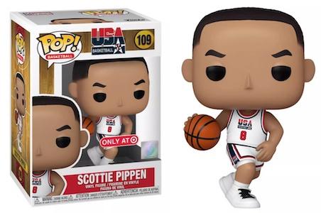Ultimate Funko Pop Basketball NBA Figures Gallery and Checklist - Dream Team 117