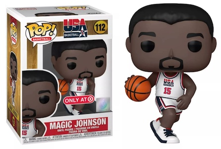 Ultimate Funko Pop Basketball NBA Figures Gallery and Checklist - Dream Team 120