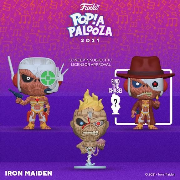 Ultimate Funko Pop Rocks Music Figures Gallery and Checklist - 2021 Popapalooza 268