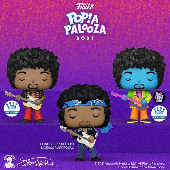 Ultimate Funko Pop Rocks Music Figures Gallery and Checklist - 2021 Popapalooza 267