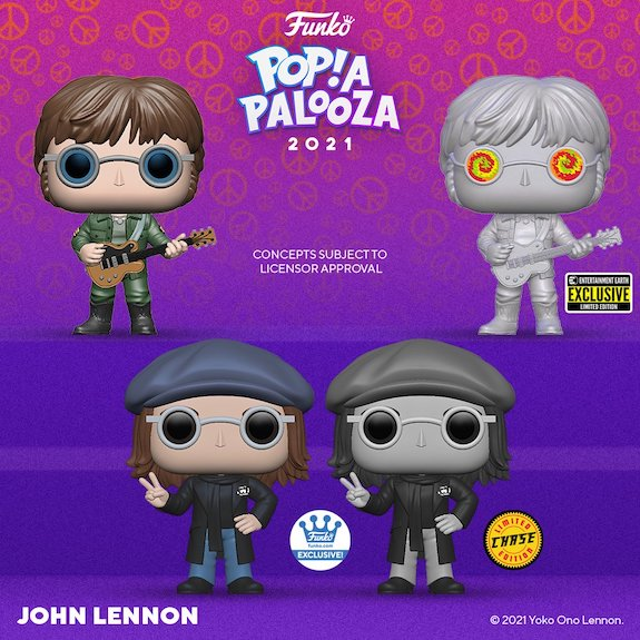Ultimate Funko Pop Rocks Music Figures Gallery and Checklist - 2021 Popapalooza 270