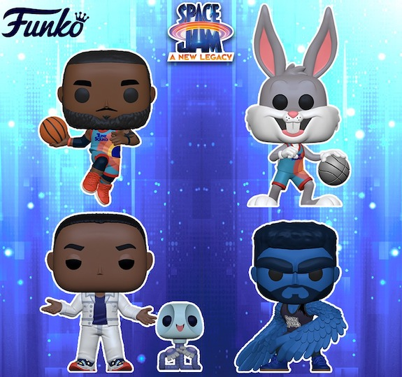 Funko Pop Space Jam Figures - A New Legacy Gallery and Checklist 23