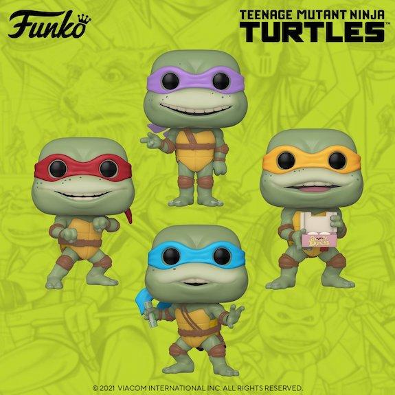 Ultimate Funko Pop Teenage Mutant Ninja Turtles Figures Checklist and Gallery 34