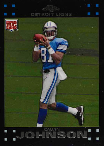 Top Calvin Johnson Rookie Cards to Collect 2