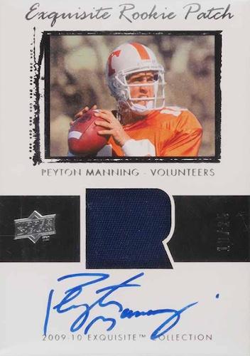 Top Peyton Manning Autograph Cards 9