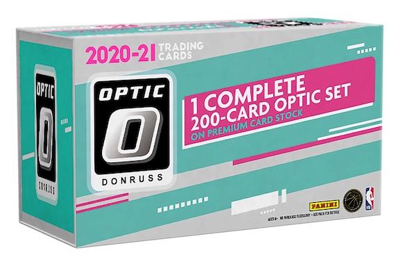 2020-21 Donruss Optic Premium Box Set Basketball Cards 2