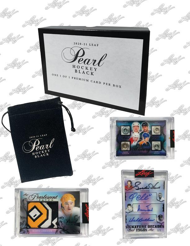 2020-21 Leaf Pearl Hockey Cards 8