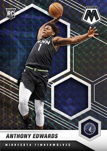 2020-21 Panini Mosaic Basketball Cards 4