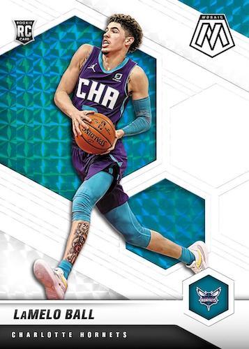 2020-21 Panini Mosaic Basketball Cards 3