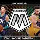 2020-21 Panini Mosaic Basketball Cards