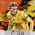 2020-21 Topps Inception UEFA Champions League Soccer Cards