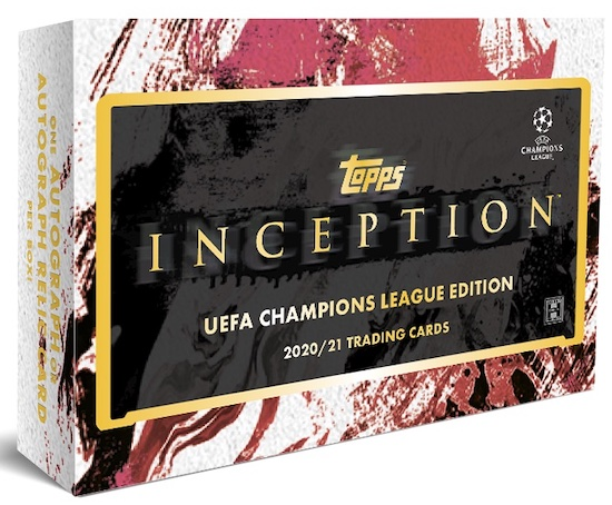 2020-21 Topps Inception UEFA Champions League Soccer Cards 6