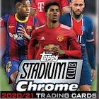 2020-21 Topps Stadium Club Chrome UEFA Champions League Soccer Cards