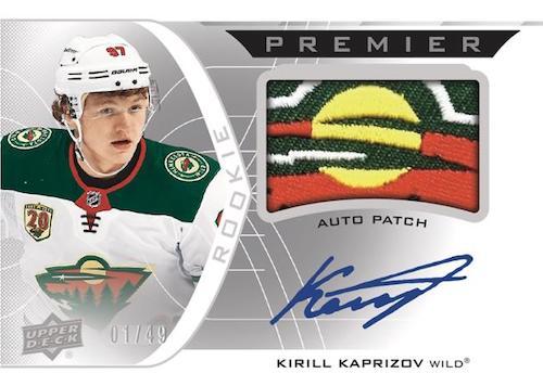 2020-21 Upper Deck Premier Hockey Cards 2