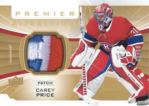 2020-21 Upper Deck Premier Hockey Cards 6