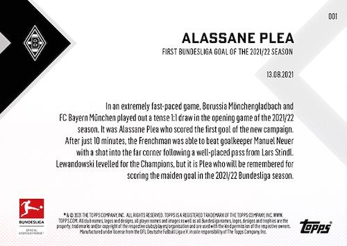 2021-22 Topps Now Bundesliga Soccer Cards Checklist Guide 2