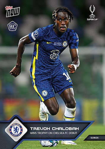 2021-22 Topps Now UEFA Champions League Soccer Cards 3