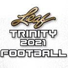 2021 Leaf Trinity Football Cards