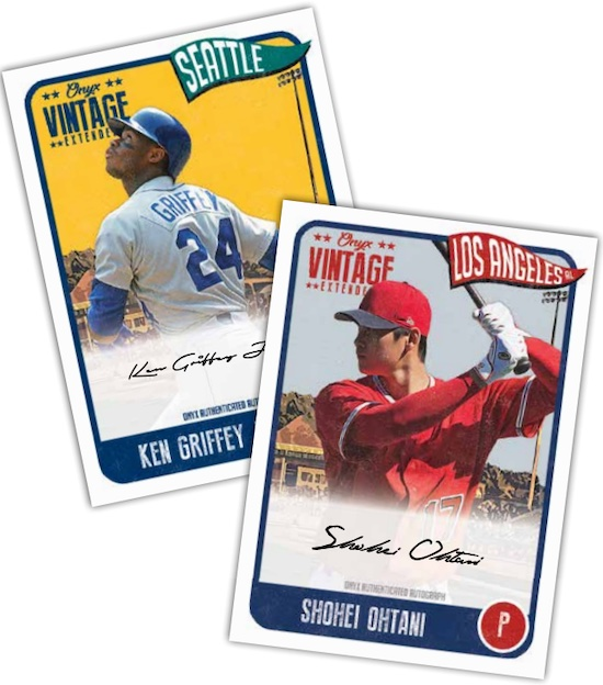 2021 Onyx Vintage Extended Baseball Cards 2