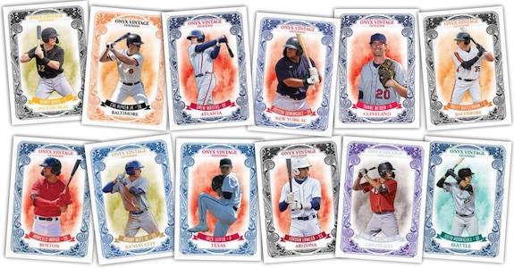 2021 Onyx Vintage Extended Baseball Cards 1