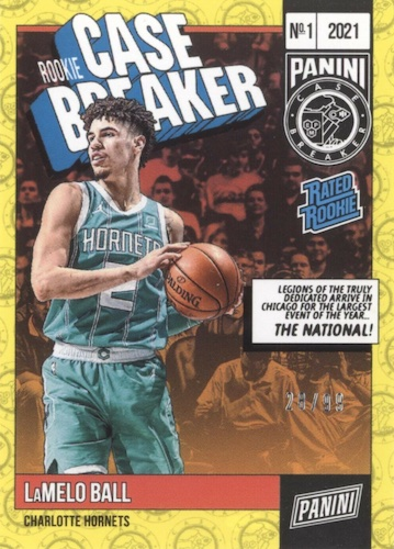 2021 Panini National Convention Wrapper Redemption NSCC Silver Packs Cards 2