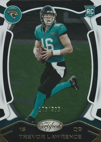 Top 2021 NFL Rookie Cards Guide and Football Rookie Card Hot List 1