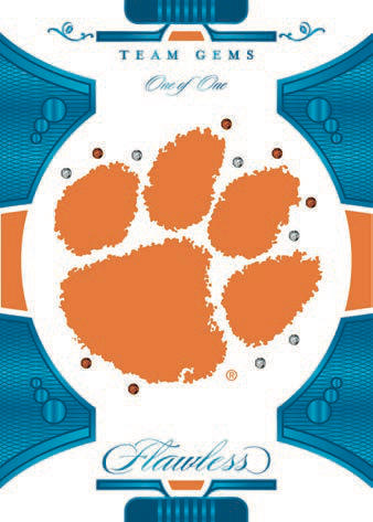 2021 Panini Flawless Collegiate Football Cards 4