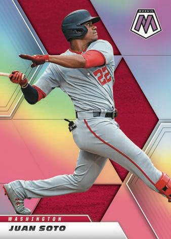 2021 Panini Mosaic Baseball Cards 3