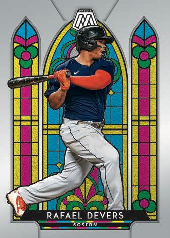 2021 Panini Mosaic Baseball Cards 7